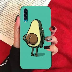 FHNBLJ арт забавные авокадо чехол для телефона для Samsung A10 20s 71 51 10 s 20 30 40 50 70 80 91 A30s 11 31