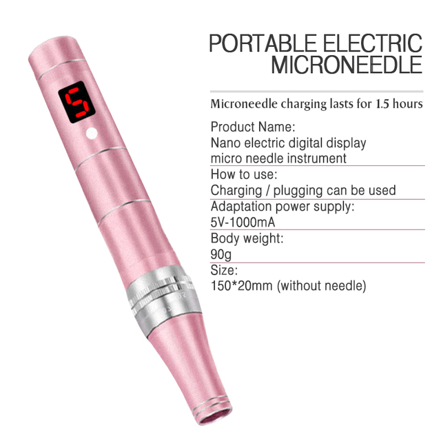 Electric Dr.Pen Nano-electric Crystallite Permanente Microblading Tattoo Makeup Machine Eyebrows Eyeliner Lip Micro Needling Pen 3