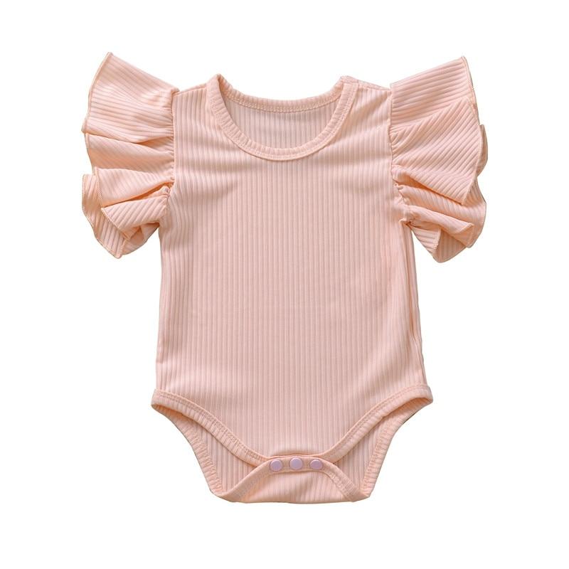 Top SaleInfant Clothing Bodysuit Short-Sleeve Newborn-Set Baby-Girl Cotton
