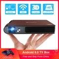 S6W Wifi Mini portable 3D Shutter Projector Smart Wifi Pocket DLP 8400mAh Built-in Battery Support HD 1080P Miracast HD Beamer