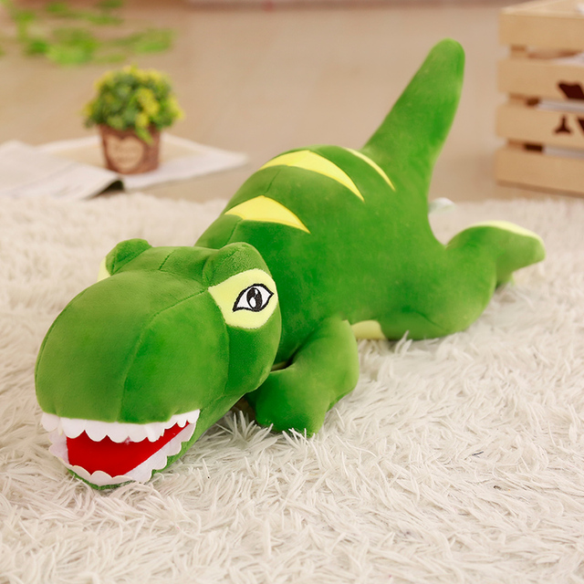 Giant Size Cartoon Dinosaur Plush Toys Hobbies Tyrannosaurus Rex Plush Dolls Stuffed Toys For Children Boys Classic Toys