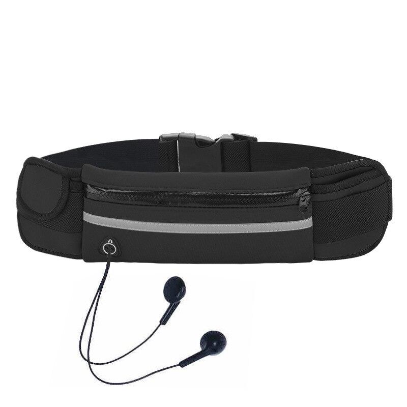 Direct Supply Neoprene Waterproof Large-Volume Wallet Sports Outdoor Fitness Running Mobile Phone Waist Bag Logo Customizable
