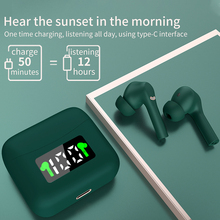 J5 TWS LED Display Bluetooth 5.0 Earphone Touch Wireless Earbuds HD Stereo Control Stereo Cordless Headset With Charging Box