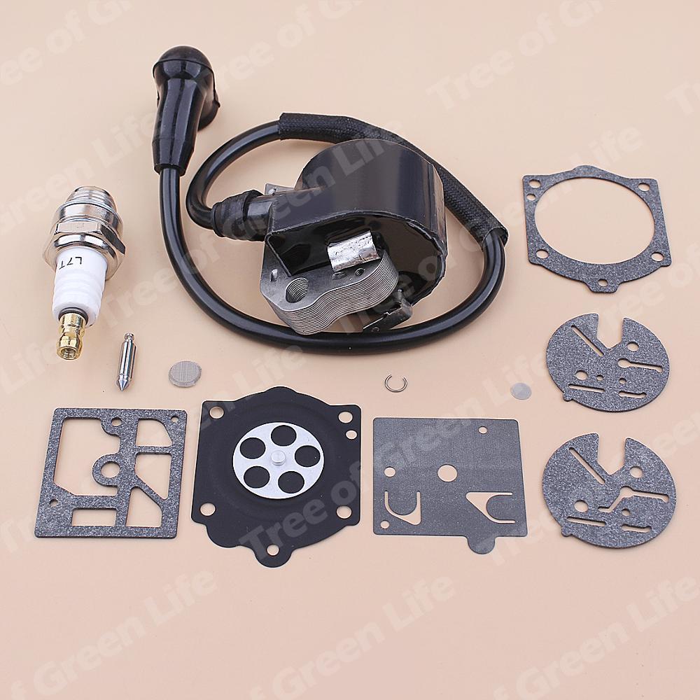 Kit Plug 3200 015 Repair Spark 404 Coil Carburetor Stihl 015AV Chainsaw 015L Ignition For 1114