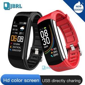 Image 2 - Moda spor akıllı saat kadın erkek Smartwatch spor izci bayanlar için Android IOS akıllı saat nabız monitörü akıllı izle