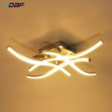 [DBF] Forkedรูปรอบ/สแควร์เพดาน 18W/24W LED Warm/เย็นสำหรับทางเดินLiving Room Decor