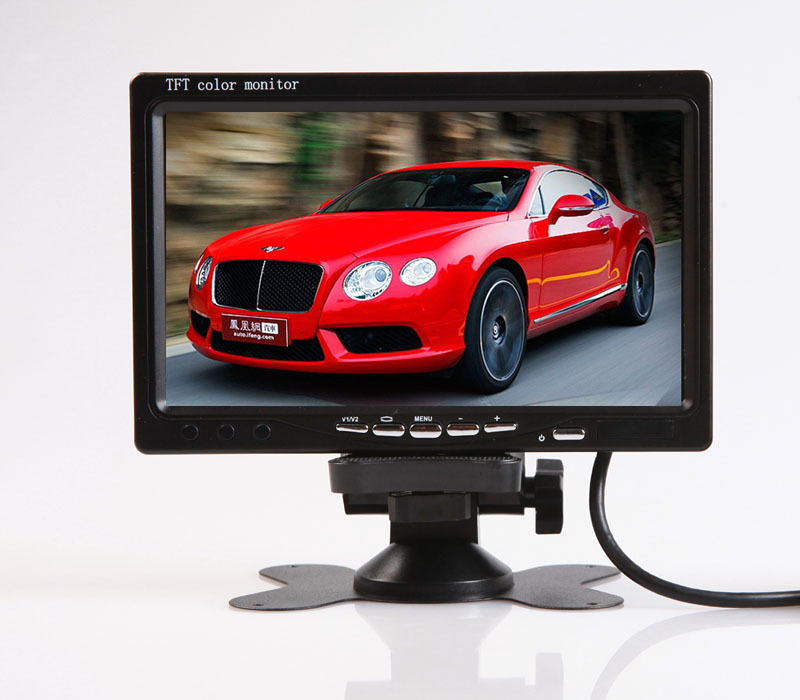24V Bus Passenger Car Big Truck 7 Inches Monitor Showed Screen Display + 24V High-definition Vehiclel Backup Camera
