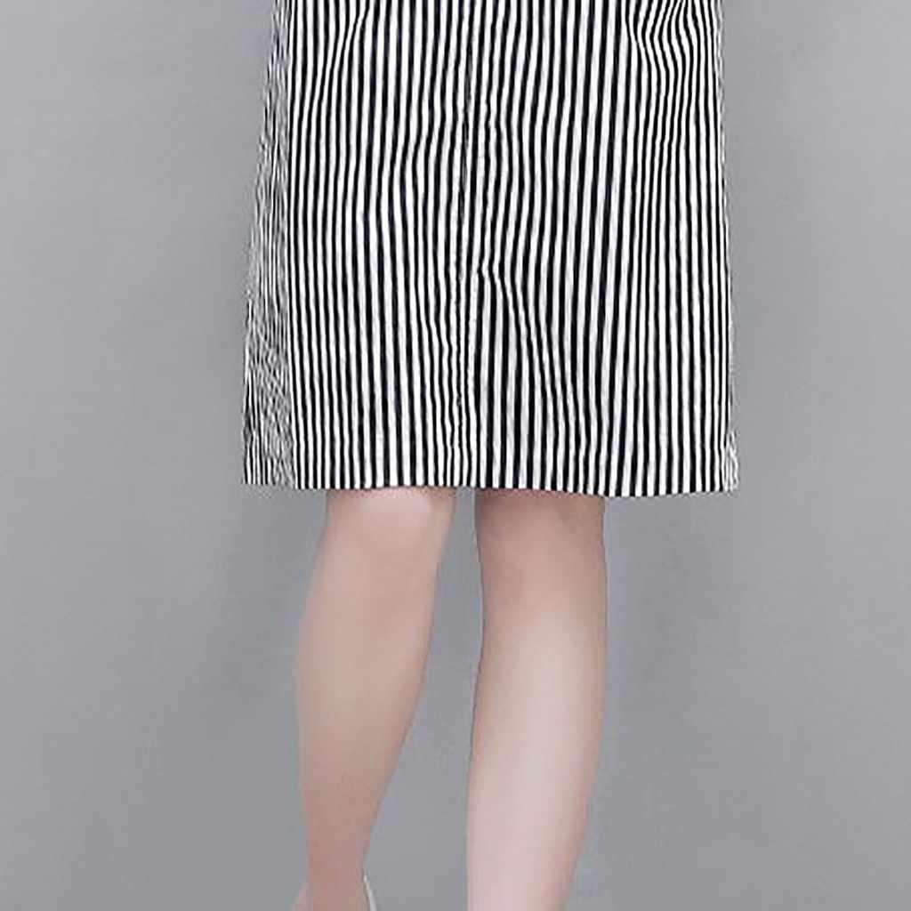 Женское платье на Хэллоуин, новинка 2019 года, зимняя женская одежда, женское платье, v-образный вырез, до колена, полосатая накидка с коротким рукавом, плюс размер, платье Z4