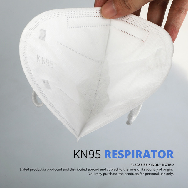 10 Pcs KN95 Face Masks PM2.5 Dust Respirator KN95 Mouth Masks Against Pollution Breathable Mask Filter (not for medical use) 4