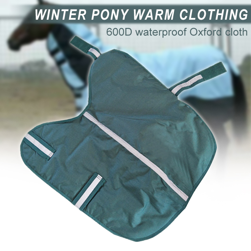 Newly Waterproof Reflective Wrap Around Cosy Exercise Sheet Rug Horse Warm Rug Warm Cover Sheet SD669