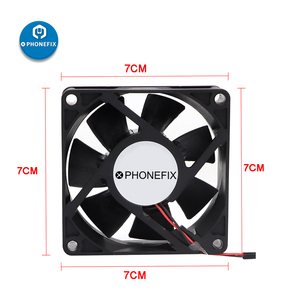 Image 3 - מיני מאוורר פליטה 3CM 7CM 5V USB חולץ עשן הלחמה ברזל קטר Exhaustor אוויר מסנן עבור טלפון האם ריתוך תיקון כלי
