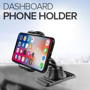 Soporte de teléfono para salpicadero de coche, montaje fácil con Clip, soporte de teléfono para coche, soporte de pantalla GPS, soporte móvil para coche, novedad de 2020