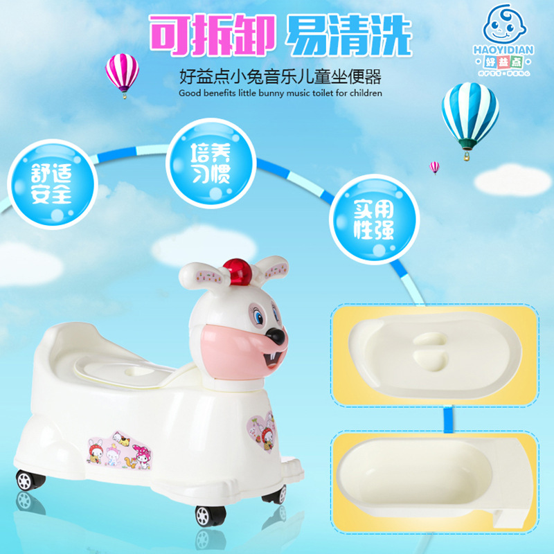 And Urinal Toilet For Kids Male Baby Pedestal Pan Women's Drawer-type Infant Potty Large Size Thick Small Chamber Pot