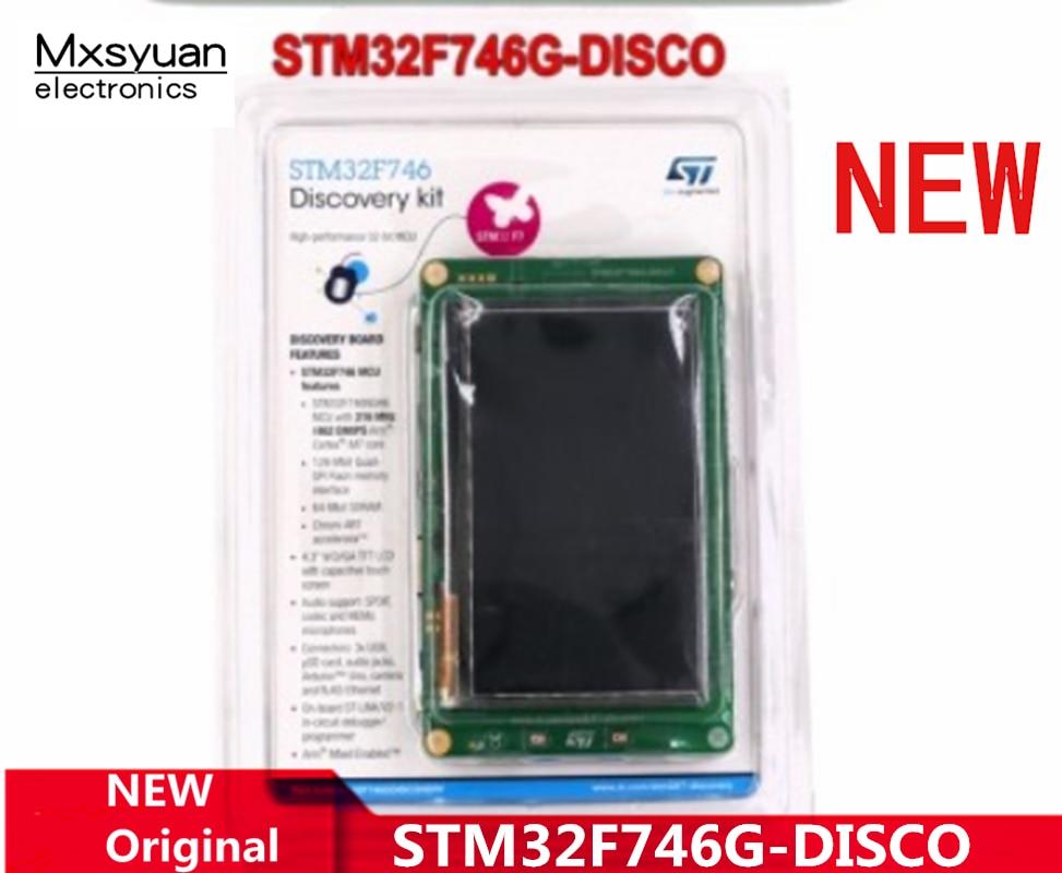 1PCS~5PCS/LOT STM32F746G-DISCO STM32F746 Cortex-M7 Development board Arduino compatible