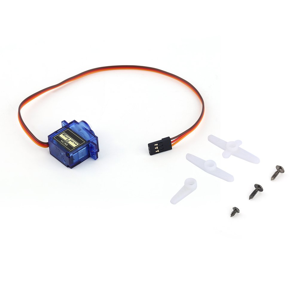 New SG90 Mini Gear Micro Servo For RC Car Boat Helicopter Airplane Trex 450