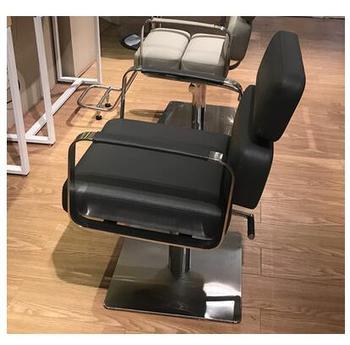 Krzesła fryzjerskie dla fryzjera wielofunkcyjne regulowane krzesła fryzjerskie dla fryzjera solidne drewniane krzesła w stylu retro tanie i dobre opinie CN (pochodzenie) Salon mebli Fryzjer krzesło Meble sklepowe