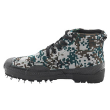 Liberation Shoes Woodland Camouflage Hight-top Special Train