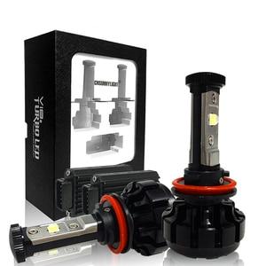 Image 4 - CNSUNNYLIGHT Super Bright Car LED Headlight Kit H4 H13 9007 Hi/Lo H7 H11 9005 9006 w/ XHP50 Chips Replacement Bulbs 6000K Lights