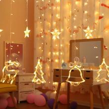 цена Christmas Led Light String Christmas Tree Decorations Merry Christmas Decorations For Home 2019 Xmas Navidad Gift New Year 2020 в интернет-магазинах