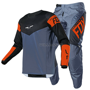 New 2021 Delicate Fox 180 Revn MX Gear Set Motorcycle Motocross Racing DH MTB Enduro Bike Cycling Jersey Pants Combo