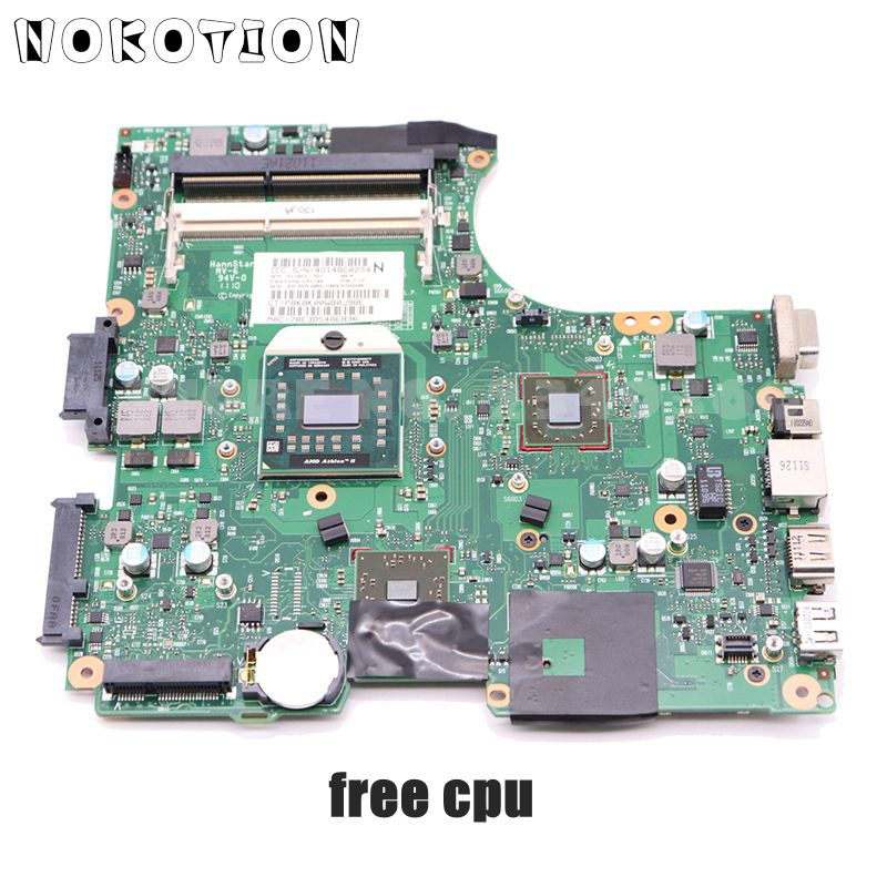 NOKOTION 611803-001 Motherboard For HP 625 325 CQ325 325 625 425 Laptop Main Board RS880M DDR3 With Free CPU