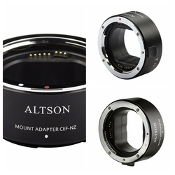 CEF-NZ Mount Adapter Ring Aperture Control Auto Focus For Smart Adapter for Canon EF/EF-S Lens to Nikon Z Series Camera