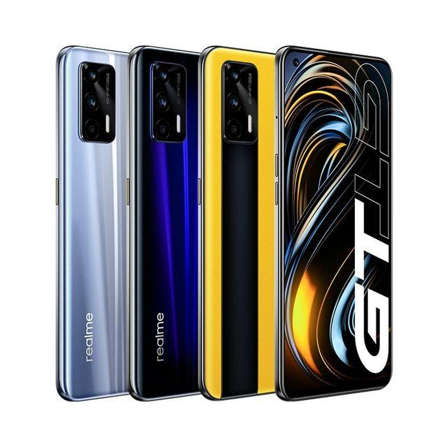 "World Premiere realme GT Global Version Snapdragon 888 65W Super Dart Charge 120Hz 6.43"" AMOLED 8GB 128GB NFC 4500mAh Smartphone 2"