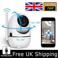720P Home Security Ip-kamera Drahtlose Mini Kamera Nachtsicht CCTV WiFi Kamera Baby Monitor Kluger Hund Nachtsicht CAM