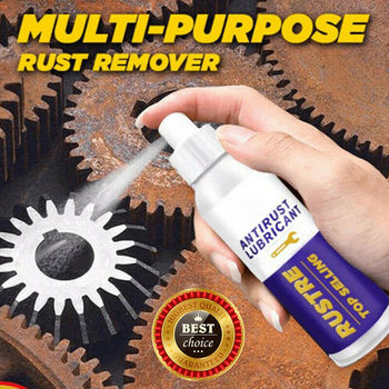 Brand New And High Quality 100ML Multi-purpose Rust Remover Derusting Spray Car Maintenance Cleaning image