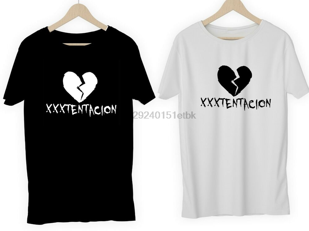 XXXTENTACION T-shirts or DIY vinyl RAPPER HIP HOP TUMBLR SAD RIP RAP MUSIC ART(China)