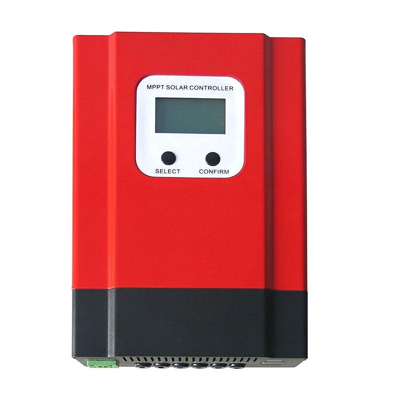 MPPT 60A Solar Charge Controller 12V 24V 36V 48V eSmart3-60A Solar Panel Battery Charge Regulator with Back-light Display RS485