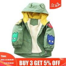 Coat Jacket Infants Toddler Autumn Girls Boys Kids Winter Children New Hooded Cotton
