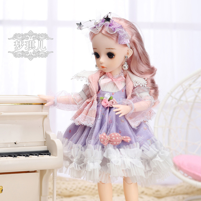 12 Inches Princess 30cm Joints BJD Suit Series Doll Toys for Girls Children Birthday Christmas Gifts 11