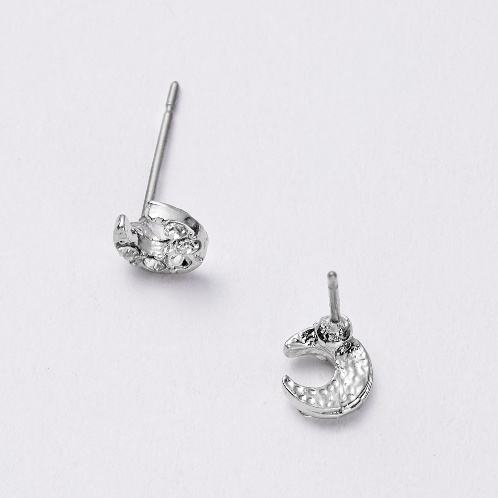 12 Pairs/set Stud Earrings Set With Card Transparent Zircon Balls Love Flowers Earrings Women Imulated Pearl Earrings Jewelry 82