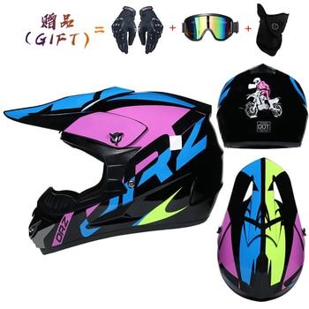 Motor Bike Cross Racing Motorcycle Helmet Safety Enduro Capacete Motorrad Cascos Downhill Bicycle Engine Cafe Racer ATV Helmets 24