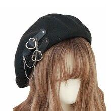 Women's' New Style Fashion Beret Summer Breathable Lolita Hat Lolita Sweet Cool Hats  Beanie JK Caps