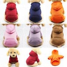 XS-2XL худи для домашних собак, пальто из мягкого флиса, теплая одежда для щенков, Толстовка для собак, зимняя одежда для собак для маленьких собак, магазин для питомцев, Лидер продаж, новинка