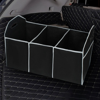 2020 Car Multi-Pocket Trunk Large Capacity Folding Storage Bag Trunk Stowing And Tidying Trunk Organizer Car Accessories