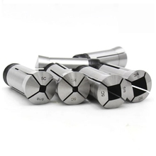 Collet Milling-Machine 8mm for 6mm 10mm 12mm 14mm Square Hole-Type 5C 1set Range-From-4mm