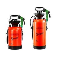 5l/8l chuveiro ao ar livre portátil chuveiro de acampamento multi função banho pulverizador rega flores lavagem do carro pequeno pulverizador|Lavadora automotiva|Automóveis e motos -