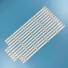 """12 adet x 47 """"LED arka işık şeritleri için 47LA613S ZB 47LA6208 ZA 47LA620S ZA 47LA620V ZA 47LA6218 ZD 47LA621S ZD 47LA621V ZD"""