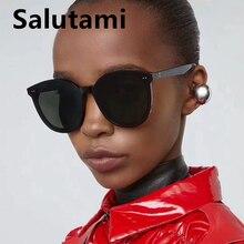 Oversize Rivet Black Square Men Sunglasses Luxury Brand Sun Glasses Women Cat Ey