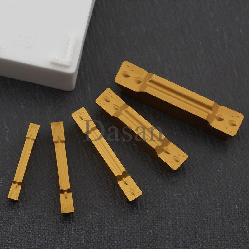 Купить с кэшбэком 10pcs Carbide Inserts MGMN150 MGMN200 MGMN250 MGMN300 MGMN400 MGMN500 1.5mm Parting Insert Grooving Blade cnc lathe cutter