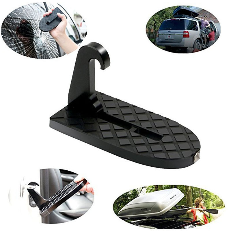 Hook Pedals Roof-Rack Assistance Car-Door Door-Step Car-Styling Foldable For SUV Vehicle