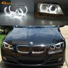 цена на Excellent DTM M4 Style Ultra bright led Angel Eyes halo rings For BMW 3 Series E90 E91 LCI 2009 2010 2011 2012 Xenon headlights