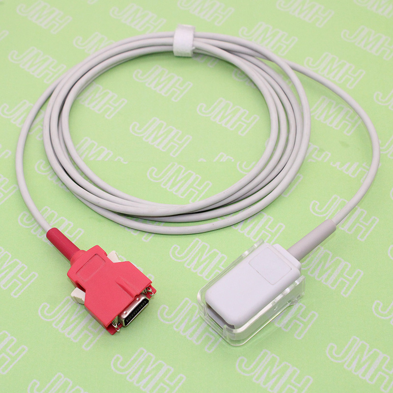 Compatible With Rad-5/6/7/8 20 Pin Pulse Oximeter Monitor,DB 9pin Spo2 Sensor Adapte Cable For Masimo LNOP Probe