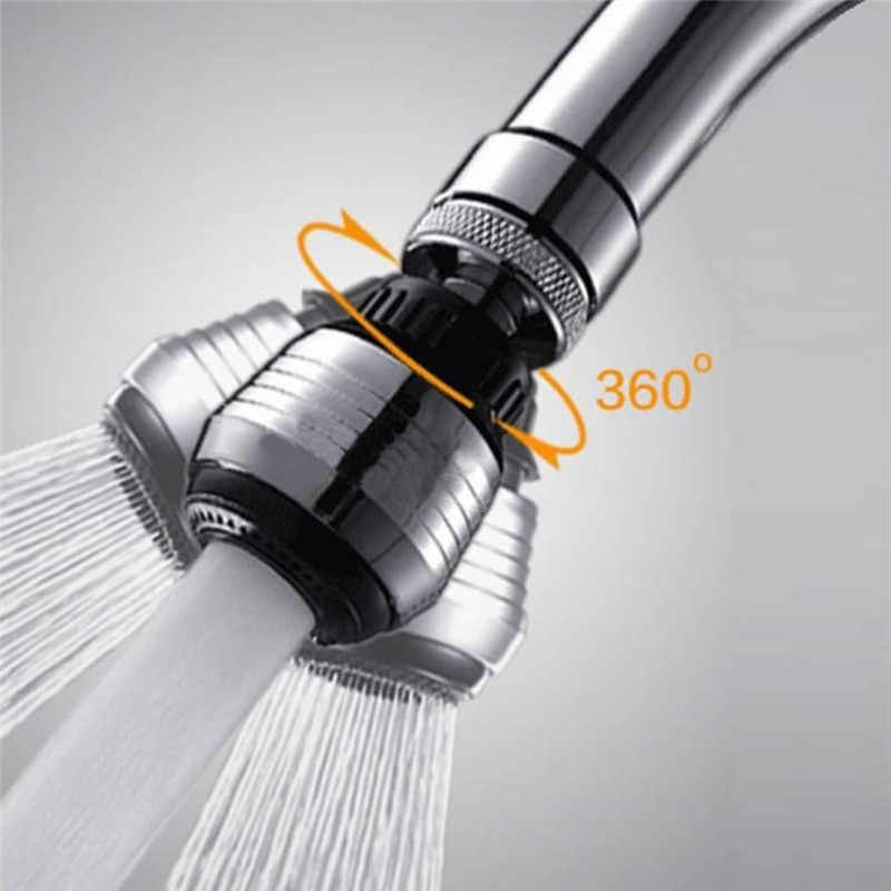 360 Rotate Saving Water Tap Aerator Diffuser Faucet Nozzle Filter Adapter Kitchen Sprayers Kitchen Faucet Accessories P0.11