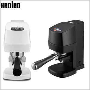 Image 3 - XEOLEO Electric Espresso coffee tamper automatic Flat Plated Base Press Coffee Grinder Coffee Bean Press Tools Coffee Accessorie