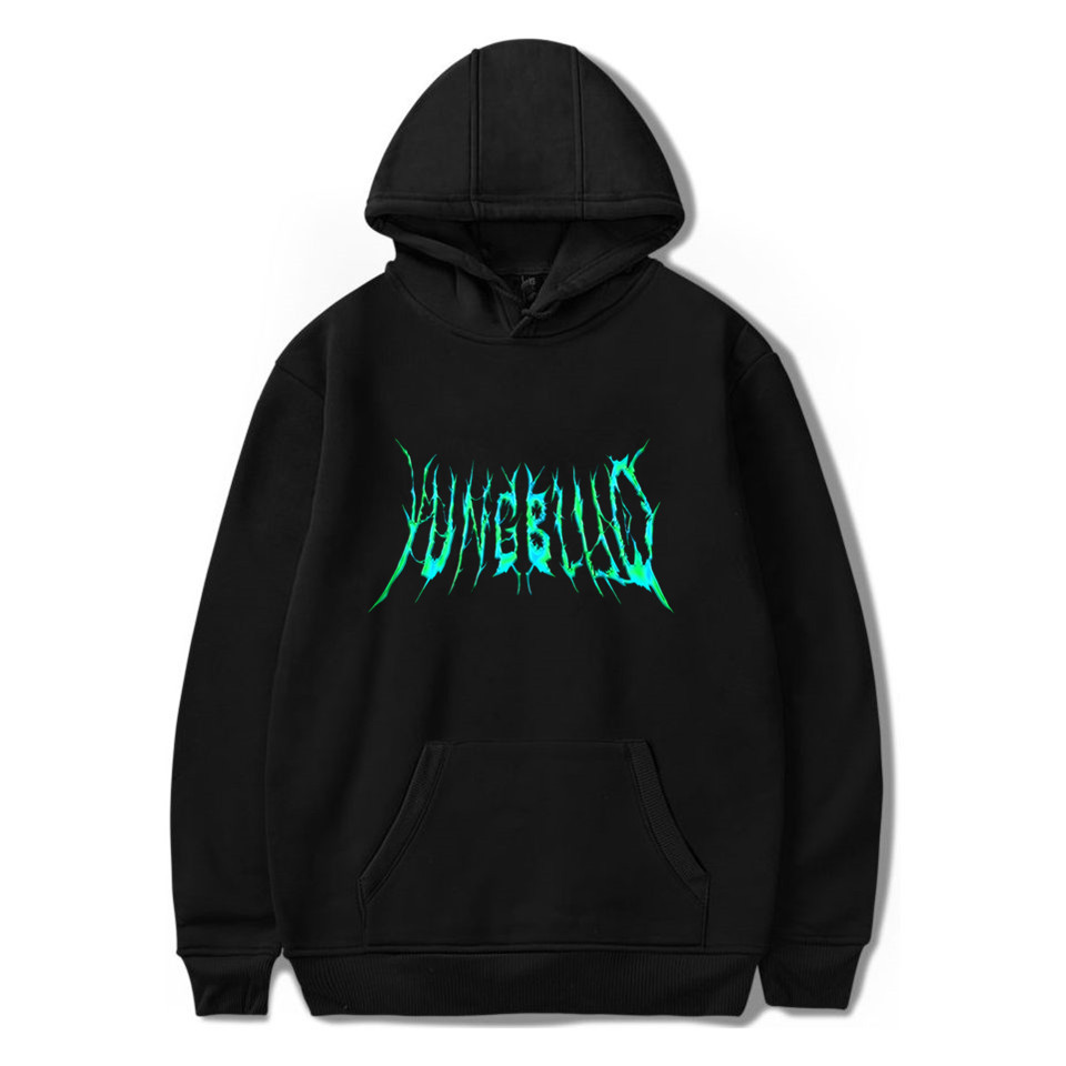 Yungblud Cool Singer Logo Fashion Printing 2020 New Arrival Harajuku Fashion Casual Couple Plus Size Plus Hooded Sweatshirt