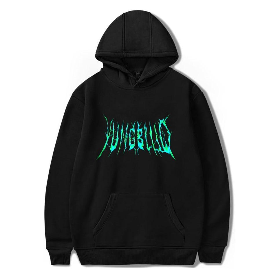 Yungblud Cool Singer Logo Fashion Printing 2020 New Arrival Harajuku Fashion Casual Couple Plus Size Plus Hooded Sweatshirt